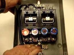 60 amp fuse box youtube how to wire an electrical panel at How To Wire A Fuse Box In A House