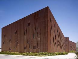 Cor ten steel Cladding Steel Corten Mitcham Laser Cutting Corten Tolerances Sidastico En