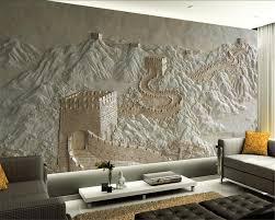 Aliexpresscom Koop Beibehang Aangepaste Behang Grote Muur Relief