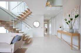 staircase lighting ideas. Lighting Ideas For Staircase Contemporary With Light Wood White Wall
