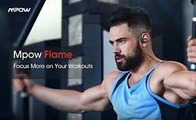 Mpow Flame <b>Bluetooth Headphones</b> V5.0 IPX7 Waterproof <b>Wireless</b>…