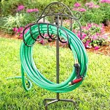 garden hose holder freestanding garden hose holder free standing garden hose holder