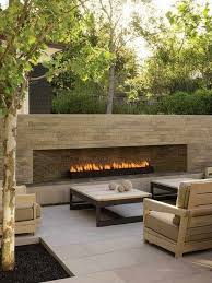 best really like this we like the look of the patio material fireplace gas