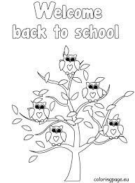 back to school coloring sheets welcome back to school coloring page awesome welcome back to school