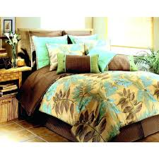tropical bedroom sets. Interesting Tropical Hawaiian Bedding Sets Tropical Bed Sheets Brown And Light Green  On Queen Size   For Tropical Bedroom Sets