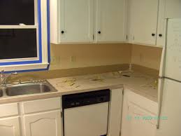 No Backsplash In Kitchen Kitchen Countertops Without Backsplash