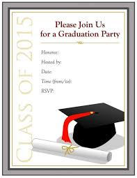 40 free graduation invitation templates template lab graduation party invitations templates um