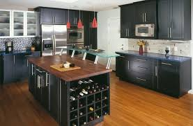 kitchen wonderful black kitchen cabinets with red pendant lamps and wine cellar kitchen cabinet