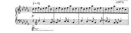 treblecleff piano why is the treble clef in the lower staff parenthesized