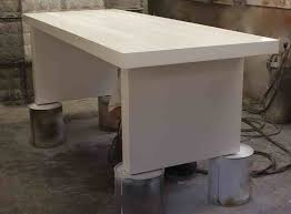 white laquer furniture. Fine White Putting The Finishing Touches In Spray Booth White Lacquer Mid  Century Modern Dining Table For White Laquer Furniture