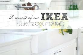 ikea quartz countertops read a review of our quartz here ikea kitchen countertops quartz