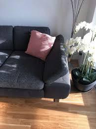 Mömax Couch Grau Cherry