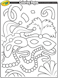 Small Picture Mardi Gras Coloring Pages fablesfromthefriendscom