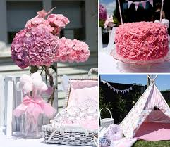 Fairy Birthday Party Decorations Pretty In Pink 1st Birthday Party Karas Party Ideas The Place