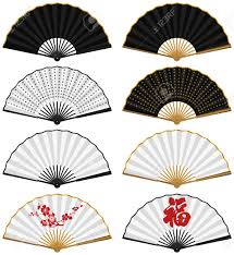 traditional chinese fans. layered vector illustration of various chinese traditional folding fans. stock - 9387737 fans n