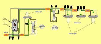 bathroom schematic wiring wiring Bathroom Light Fan Wiring Diagram
