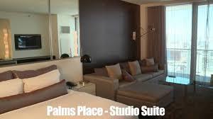 Palms Place 2 Bedroom Suite Bookitcom Previews Las Vegas Palms Place Studio Suite Youtube