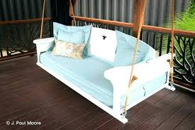 outdoor porch bed swing round daybed plans twin large size how to make patio outdoor porch bed swing round diy