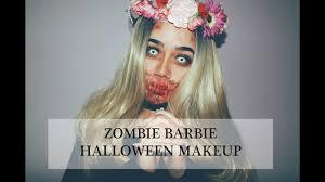 zombie barbie makeup