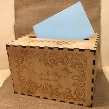 wedding card box custom card box rustic wood card holder gift box keepsake memory box card chest card holder personalized engraved