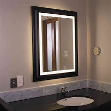 Bathroom Wall Mirrors With Lights Mirror Design Ideas - Bathroom mirror design ideas