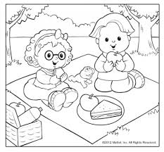The Most Amazing as well as Stunning Little People Coloring Pages ...
