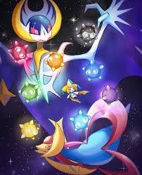 Pokemon | Lunala, Cresselia, Jirachi & Miniors - Take Them To The Stars |  Cute pokemon wallpaper, Pokemon, Pokemon art