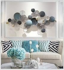 metal wall decor living room