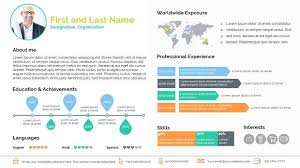Smart Resume Awesome Smart Resume Presentation Templates Creative Market