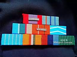 Un Medals Chart What Does The Ribbon Which Looks Like A Coloured Barcode