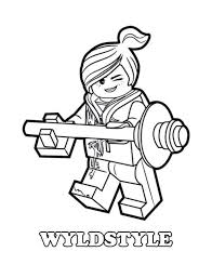Lego Movie Coloring Pages Page Pinterest