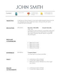 Summer Internship Resume Examples Resume For Summer Internship Curriculum Vitae Cv Samples