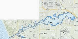 Mona Lake Fishing Map Us_mi_61_7 Nautical Charts App
