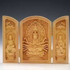 <b>Wooden</b> Antique Chinese <b>Kwan-yin</b> Statues & Figurines for sale | eBay
