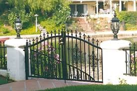 vinyl fence double gate. Simi Valley Fence Company, Vinyl Fencing, Redwood Gates - Finest-Fence.com Double Gate L