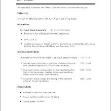 Work Experience Examples For Resume First Time Resume With No ...