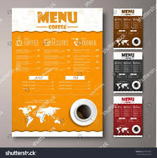 Coffee Shop Brochure Template The Images Collection Of Vector Cafe Restaurant Cafe Coffee Shop 19
