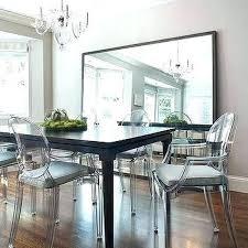 large wall mirrors for dining room. Wonderful Dining Mirror Dining Table Wall Mirrors For Room Large And Ghost  Chairs In Inside O