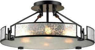 mercury glass flush mount ceiling light elk modern oil rubbed bronze home lighting lights depot canada