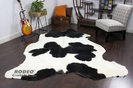 black white cowhide rug black white cowhide rug rodeo cowhide rugs