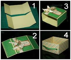 how to diy origami paper gift box 9
