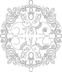 Free Nature Mandala Coloring Pages For Color In Mandalas Animal Kids