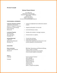 Current College Student Resume Cv Examples College Student Resume Templates Design For
