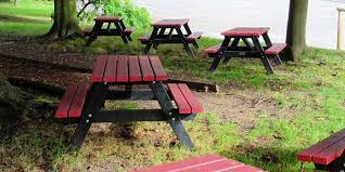 looking for recycled plastic picnic tables