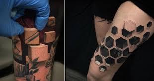 Umělec Vytváří 3d Tetování Která Tě Dostanou Podívej Se Na