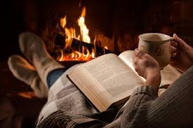 Image result for reading at christmas