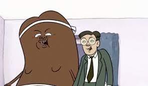 Scott bullock as the giant coffee bean. Coffee Bean Translator Regular Show Wiki Fandom