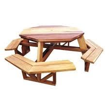 folding wooden garden table plans. octagon picnic table - downloadable plan folding wooden garden plans