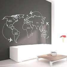 world wall decal wall world map world map outlines wall decal continents decal large world map world wall decal map
