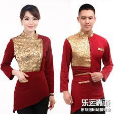 10pcs whole work wear autumn and winter female long sleeve front desk waitress uniforms hotel restaurant work clothes on aliexpress com alibaba group